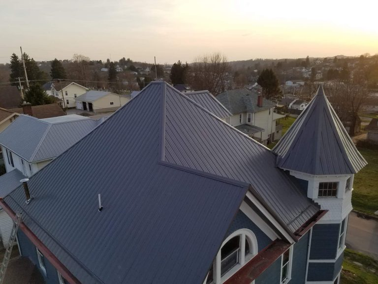 Tower style roof project